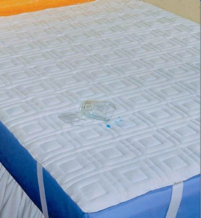 Hartmann 36080 Dignity Washable Quilted Seating Protector, 36'' Width, 80'' Length, Polyester