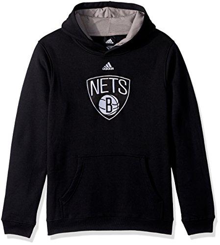 NBA Youth 8-20 Brooklyn Nets Prime Pullover Hoodie -Black-XL(18)