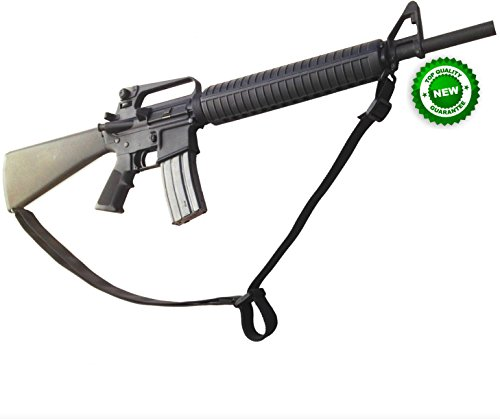 Lowest Prices! STI 2 Point Rifle Sling - Adjustable Gun Sling with Fast-Loop and 1.25 inch Webbing f...