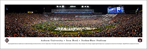 Auburn Football (Iron Bowl 2017) - Unframed 40 x 13.5 Poster by Blakeway - Auburn Bowl Iron