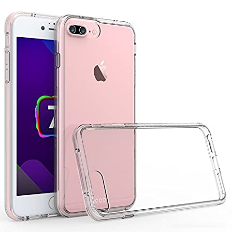 iPhone 7 Plus Case, Pasonomi Ultra Slim Shockproof Soft Bumper Cover with Crystal Clear Back Panel Protective Case for iPhone 7 Plus (299 Days Volume 2)