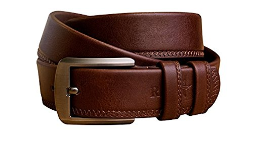 Super Star Belt (RnS STAR Men's Dress Belt Leather Reversible 1.25