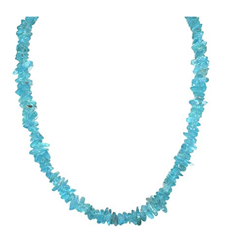 - Charged Blue Apatite Necklace 18
