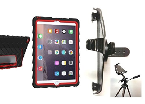 SlipGrip Tripod Mount For Apple iPad Air 2 Tablet Using GumDrop HidAway Case