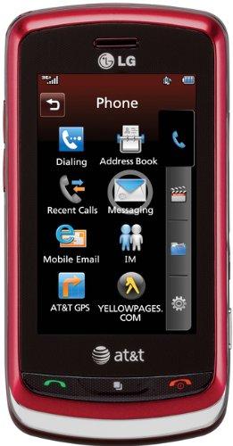 LG Xenon GR500 Phone Red