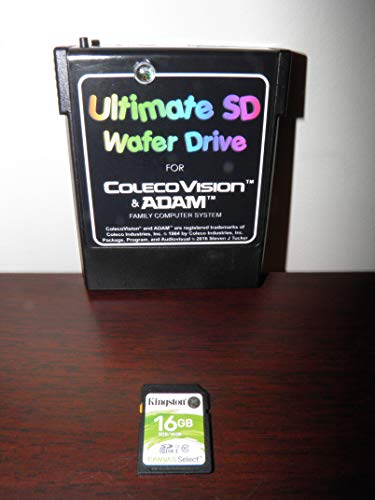 ColecoVision/ADAM Ultimate SD Wafer Drive (with Mario Brothers and Mr  Chin)