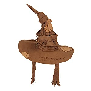 elope Harry Potter Costume Sorting Hat for Adults and Kids Brown