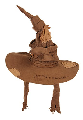 elope Harry Potter Sorting Hat Costume Brown ()