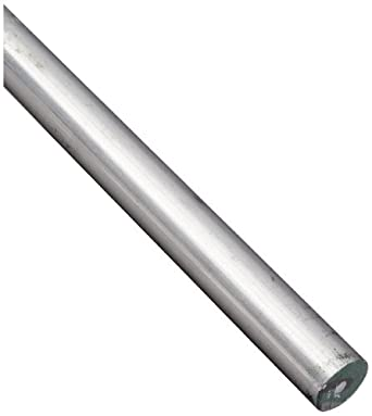 7068 Aluminum Round Rod, Unpolished (Mill) Finish, T6511 Temper, Standard  Tolerance