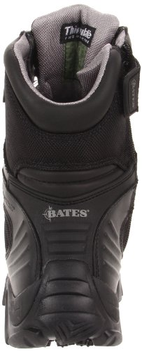 Bates Mens Gx-8 Gore-tex Zip Laterale Isolante Impermeabile Nero