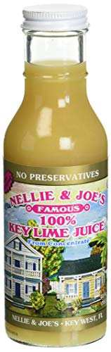 Nellie and Joe's 100% Key Lime Juice, 12oz Glass