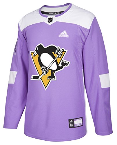 (adidas Pittsburgh Penguins Hockey Fights Cancer Authentic Pro Jersey)