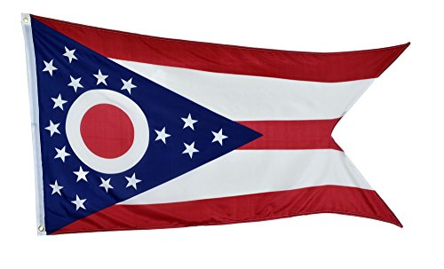 Shop72 US Ohio State Flags - Ohio Flag - 3x5' Flag From Stur