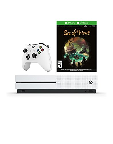 Microsoft Xbox One S 1 TB Console with SEA OF THIEVES and Wireless Controller Choose the Must-Play Games and More