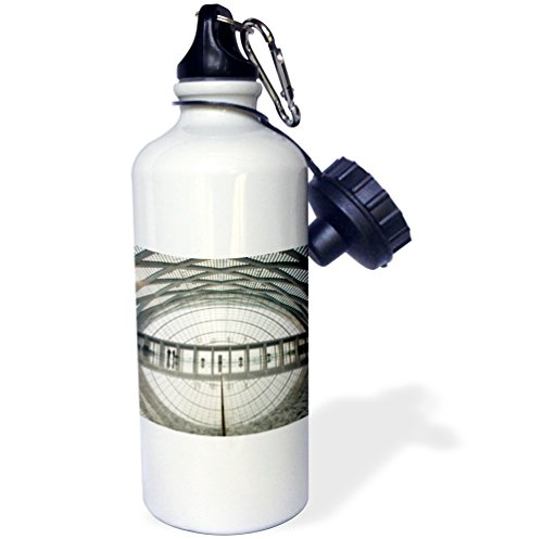 Danita Delimont - Architecture - China, Tianjin, Reflections inside theTianjin West Railway Station - 21 oz Sports Water Bottle (wb_225577_1) (China Station Railway)