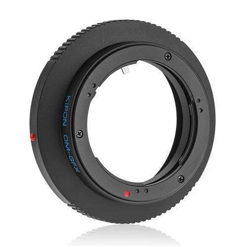 Kiponレンズアダプタfor Fujifilm g-mount GFXカメラ Olympus OM OM-GFX   B071VLZLW5
