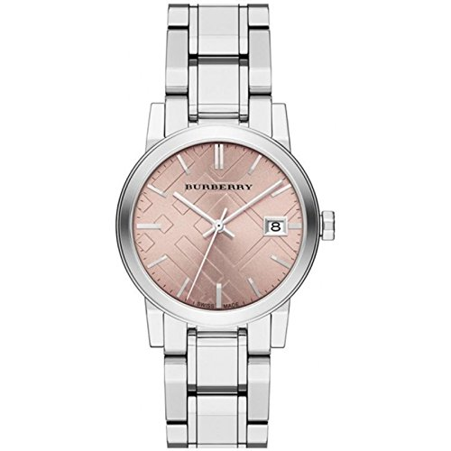 Burberry Medium Check Stamped Ladies Watch BU9124