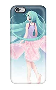 High Impact Dirt/shock Proof Case Cover For Iphone 6 Plus (hatsune Miku 2) Sending Free Screen Protector