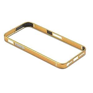 PanzerGlass Alu02 - Funda tipo borde para Apple iPhone 5/5s, oro