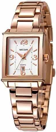 393728e0168b9 Shopping Screw-Down Crown - Metal - Rectangle - Wrist Watches ...
