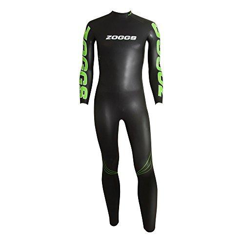 Zoggs Schwimmanzug Open Water–FX3Triathlon, schwarz/grün