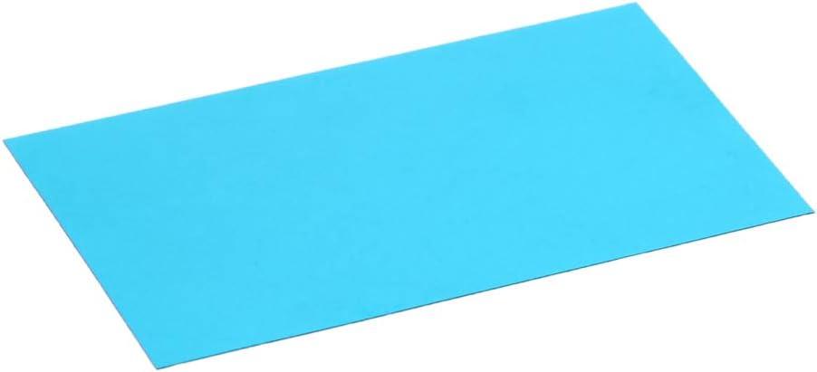 Othmro Transparent Color Film Sheets Blue Transparent Overlays Resin Lens for Red-Cyan Anaglyph 24PCS