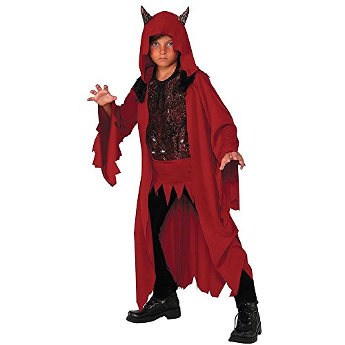 Rubie's Costume Co Kids Deluxe Glowing Devil Costume, Small