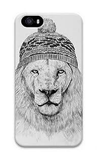 iPhone 4 4S Case, iCustomonline Winter Designs Case for iPhone 4 4S Hard Black