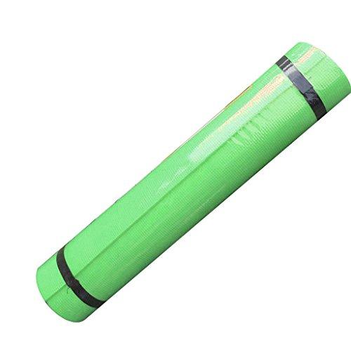 4MM Yoga Mat, Rukiwa EVA Thick Durable Non slip Exercise Fitness Pad Mat( Random Color)