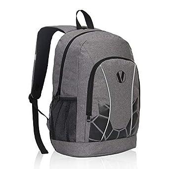 Amazon.com   Veegul Luminous School Backpack Teens Glow Bookbag Boys Daypack  (Grey+)   Kids  Backpacks 2659df03ad