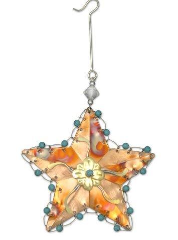 Pilgrim Imports - Rustic Star Christmas Ornament - Fair Trade Christmas Tree Ornament by Pilgrim Imports