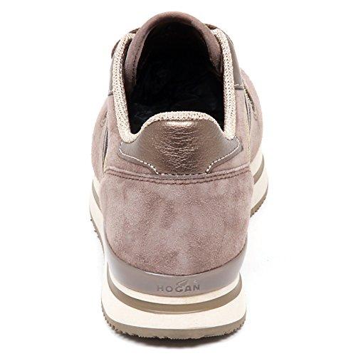 Tortora Tortora Shoe H222 Donna Scarpe Sneaker Scuro Woman Scuro E4294 Hogan zAF4wq