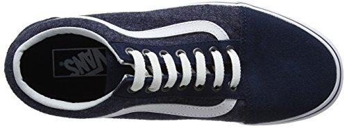 Homme Chaussures Skool Bleu Vans de Running Suiting Suede Old zw1XzEqp