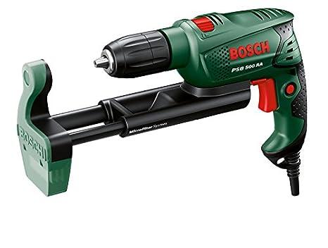 Bosch Perceuse /à percussion Easy PSB 500 RE /à r/égulation /électronique avec coffret 0603127000