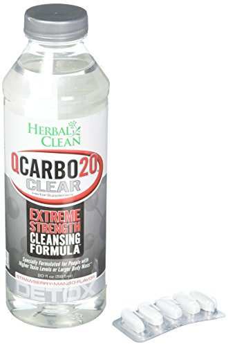 Bng Herbal Clean - BNG ENTERPRISES Clear Qcarbo Strawberry Mango, 0.02 Pound