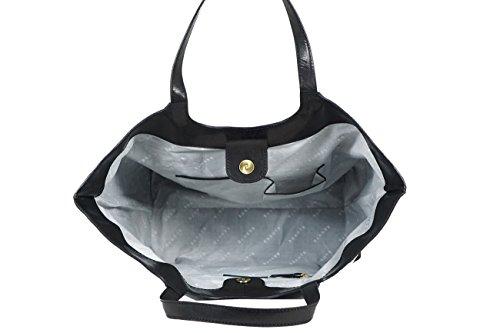 Women's Black Bag Assots Full Genuine Grain 'REGENT' Tote Leather w8gqX1H8