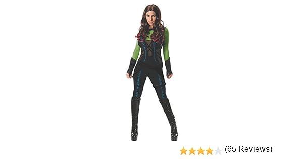 Disfraz de Gamora Guardianes de la Galaxia deluxe para mujer ...