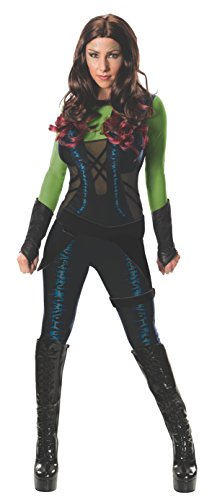 [Rubie's Women's Marvel Universe Guardians Of The Galaxy Gamora, Multicolor, Large] (Marvel Heroes Costumes For Adults)