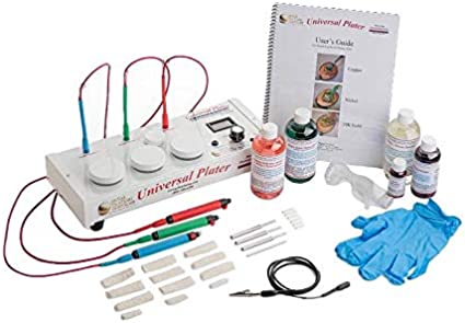 Silver Plating Kit Electroplating Kit Includes Silver Solution