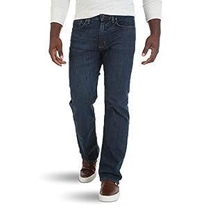 Wrangler Authentics Men's Big & Tall Relaxed Fit Comfort Flex Waist Jean