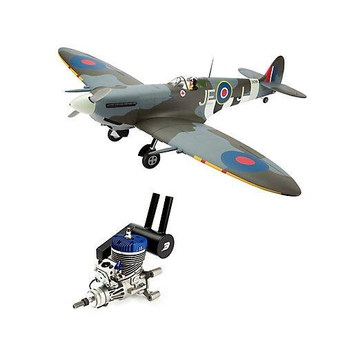 Hangar 9 Arf (Spitfire Mk IXc 30cc ARF with Evolution 33GX Gas Engine)