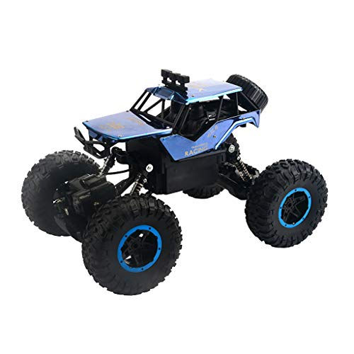DaoAG RC Rock Crawler 1/14 2.4Ghz 30km/h High Speed Off Road RC Buggy 4WD Remote Control Monster Truck Electric Fast Racing Buggy Hobby Car with Metal Shell