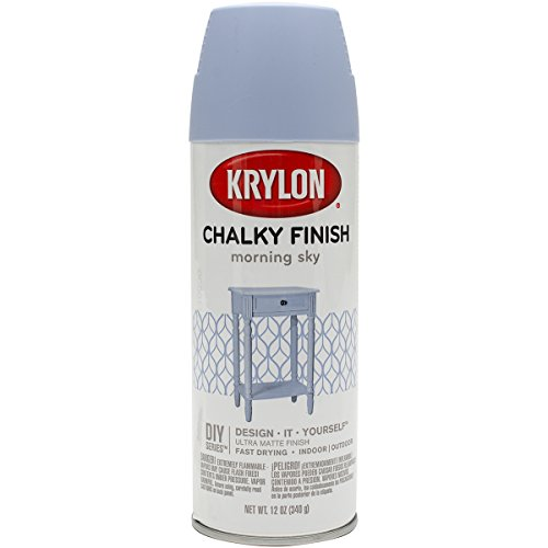 Chalky Finish Aerosol Spray Paint 12Oz-Morning Sky