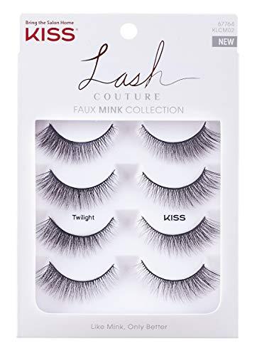 Kiss Lash Couture Faux Mink - Twilight Multipack 4-pair, 4count