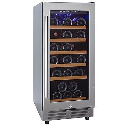 Wine Enthusiast Classic 15 Inch Under Counter Wine Refrigerator