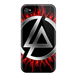 Bumper Hard Cell-phone Case For Iphone 4/4s (Njw3997oVhv) Customized Lifelike Linkin Park Band Image
