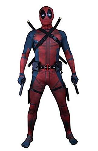 Unisex Superhero Lycra Spandex Zentai Halloween Cosplay Costumes Adult/Kids 3D -