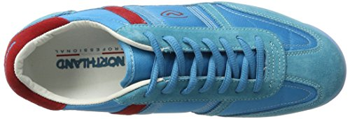 Bleu Shoes Northland Blue Basses LC Homme Red Sneakers Tad ExxqYp7nfw