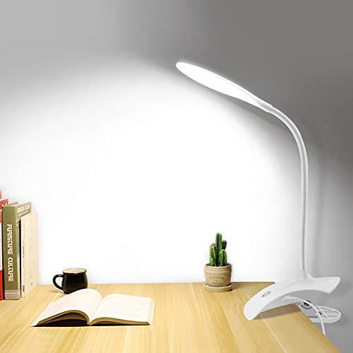 Dpsyszd Leeslamp USB Aangedreven led boek licht 3 niveau brightnes Dimbare Buigbare Touch Sensor Controle lezen Studie…