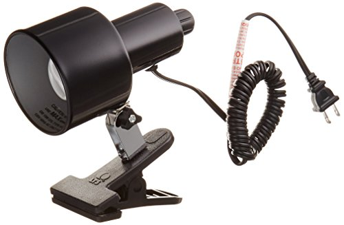 (Lite Source LSF-112BLK Clip-on Clamp-on-Lite, 13.5